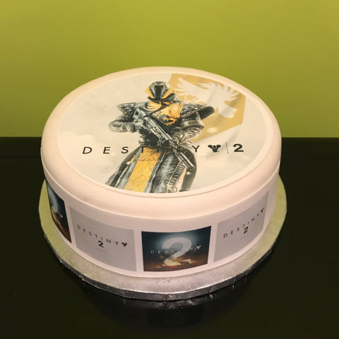 Destiny 2 Edible Icing Cake Topper 03