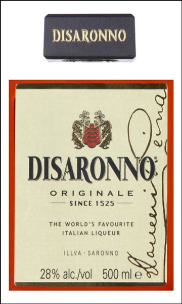 Disaronno Label Edible Icing Topper