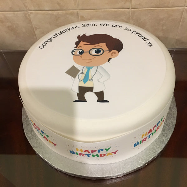 Doctor Edible Icing Cake Topper 02