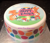 Easter Edible Icing Cake Topper 02