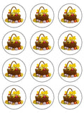 Easter Edible Icing Cake Topper 06