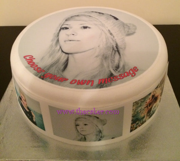 Ellie Goulding Edible Icing Cake Topper