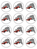 F1 Formula One Edible Icing Cake Topper 03