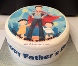 Father's Day Edible Icing Cake Topper 03