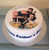 Father's Day Edible Icing Cake Topper 11