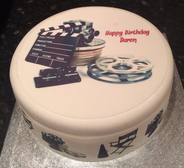 Cinema Movie films Edible Icing Cake Topper 01