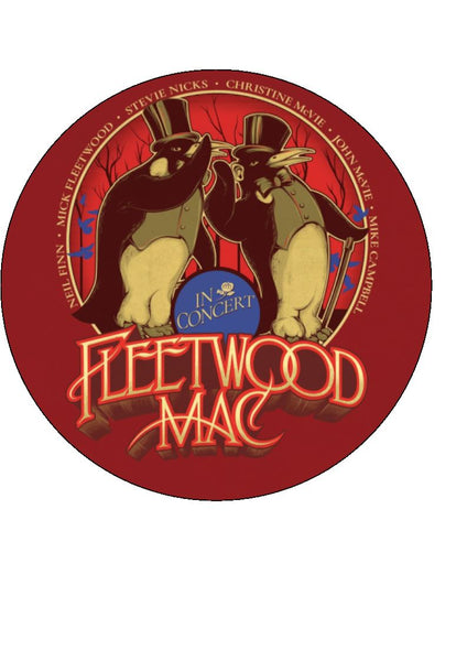 Fleetwood Mac Edible Icing Cake Topper
