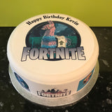 Fortnite 02 Edible Cake Ribbon, Border (3 x pre-cut strips)