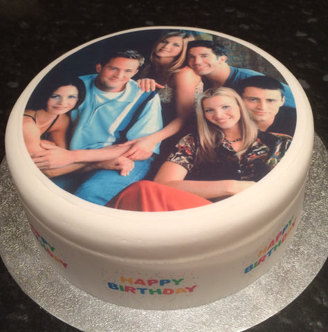 Friends Edible Icing Cake Topper