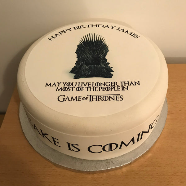Game of Thrones Edible Icing Cake Topper 02