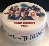 Game of Thrones Edible Icing Cake Topper 03