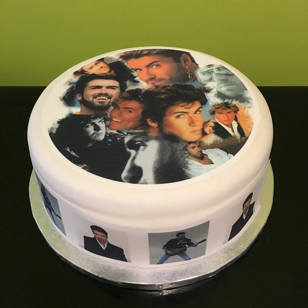 George Michael Edible Icing Cake Topper 04