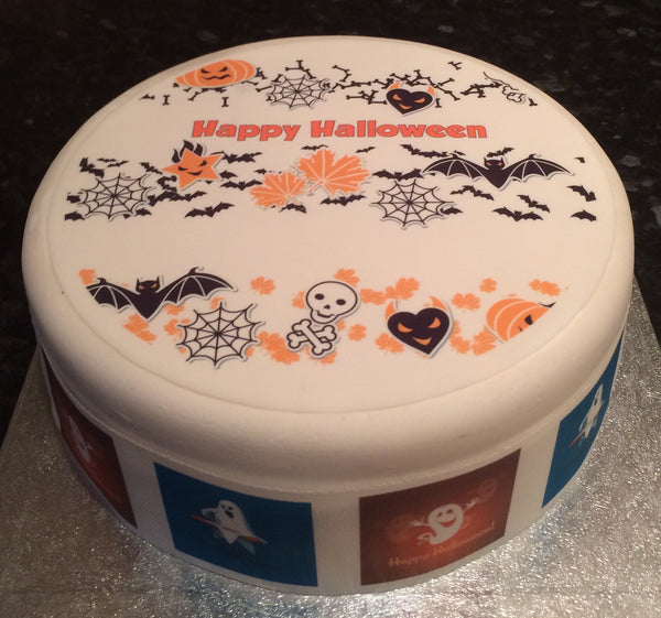 Halloween Edible Icing Cake Topper 02