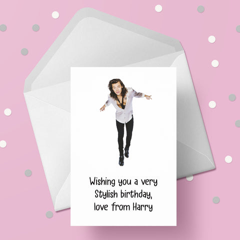 Harry Styles Card 08