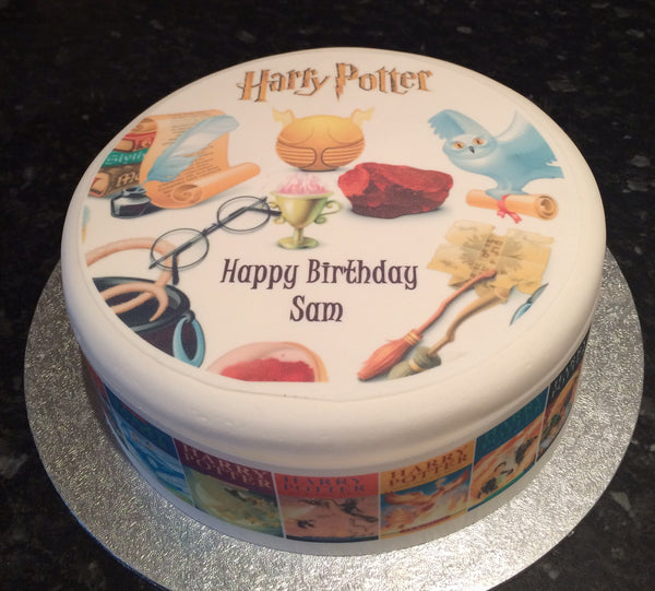 Harry Potter Edible Icing Cake Topper 04
