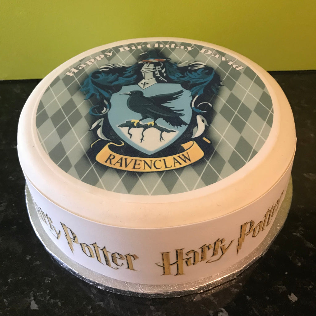 Harry Potter Edible Icing Cake Topper 11 Ravenclaw The