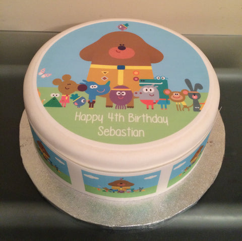 Hey Duggee Edible Icing Cake Topper