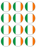 Ireland Irish Flag Edible Icing Cake Topper