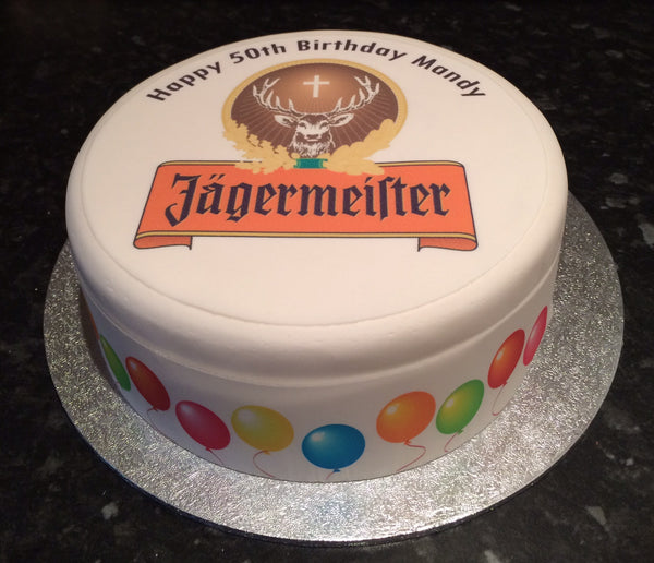 Jagermeister Logo Edible Icing Topper