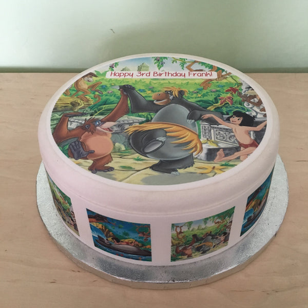 Jungle Book Edible Icing Cake Topper 02
