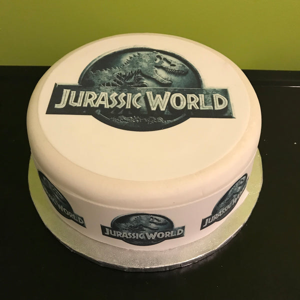 Jurassic World Edible Icing Cake Topper