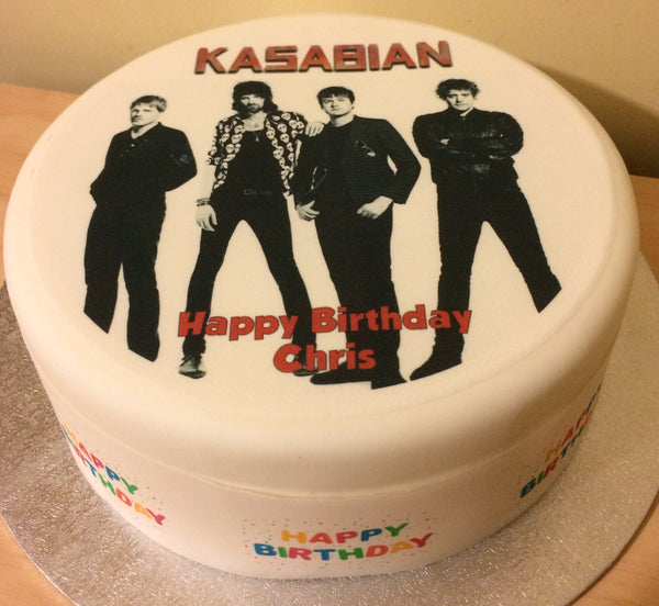 Kasabian Edible Icing Cake Topper