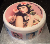 Katy Perry Edible Icing Cake Topper 02