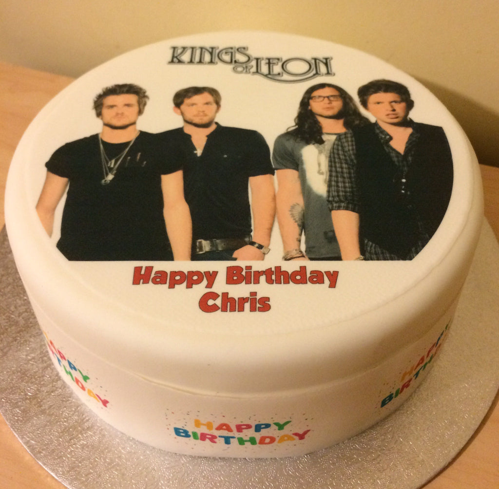 Kings Of Leon Edible Icing Cake Topper The Caker Online