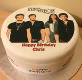 Kings of Leon Edible Icing Cake Topper