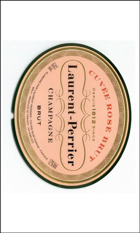 Champagne Label Edible Icing Topper 03 - Laurent Perrier