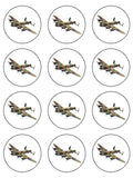 WW2 Lancaster Bomber Plane Edible Icing Cake topper