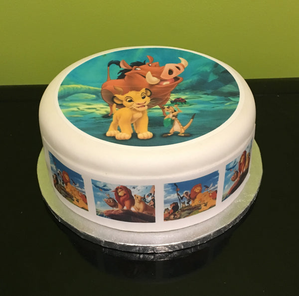 Lion King Edible Icing Cake Topper 03