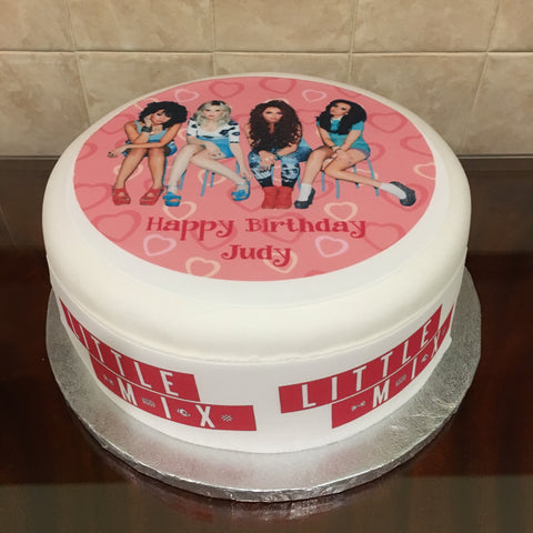 Little Mix Edible Icing Cake Topper 03