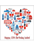 London Engand UK Edible Icing Cake Topper 01