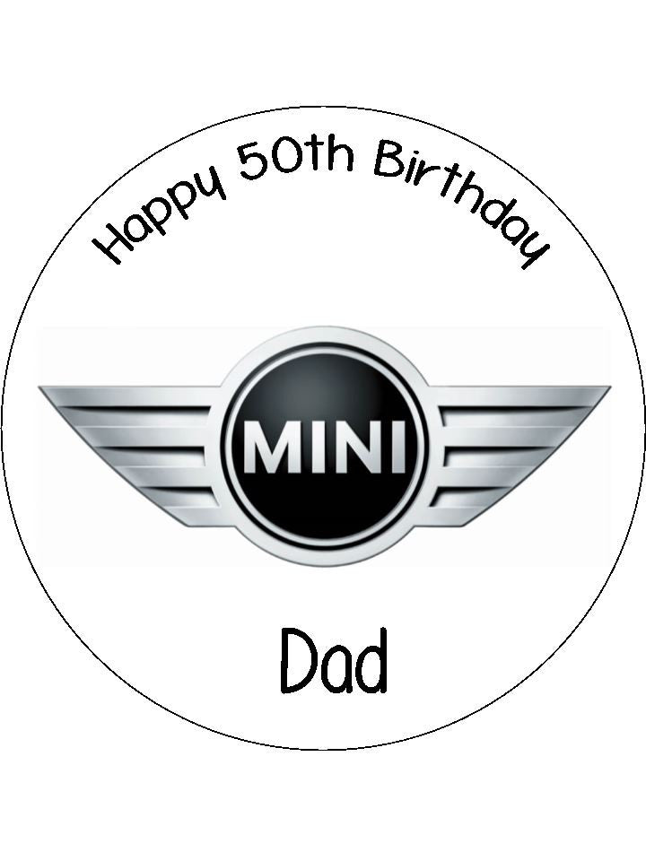 Mini Car Logo Edible Icing Cake Topper The Caker Online
