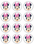 Minnie Mouse Edible Icing Cake Topper 02