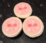Mother's Day Edible Icing Cake Topper 05