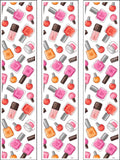 Nails Nail Polish Beauty Edible Icing Cake Topper 02