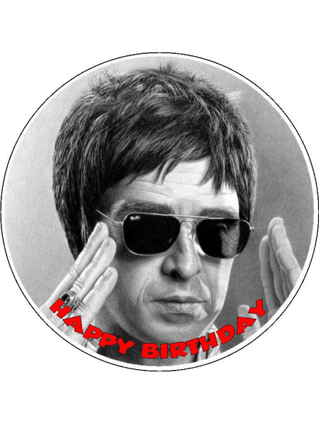 Noel Gallagher Edible Icing Cake Topper 01