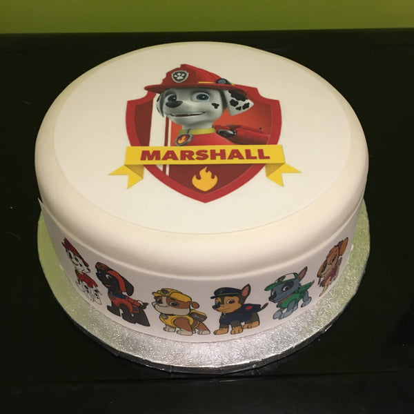 Paw Patrol Marshall Edible Icing Cake Topper