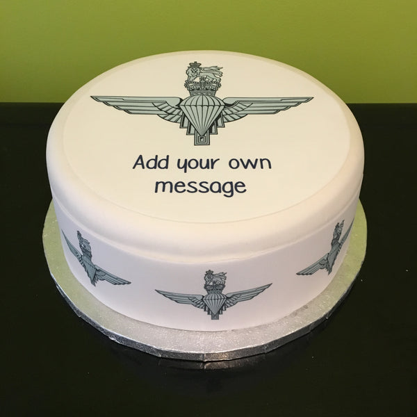 Parachute Regiment Logo Edible Icing Cake Topper