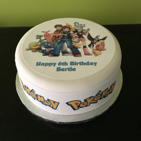 Pokemon Edible Icing Cake Topper 03