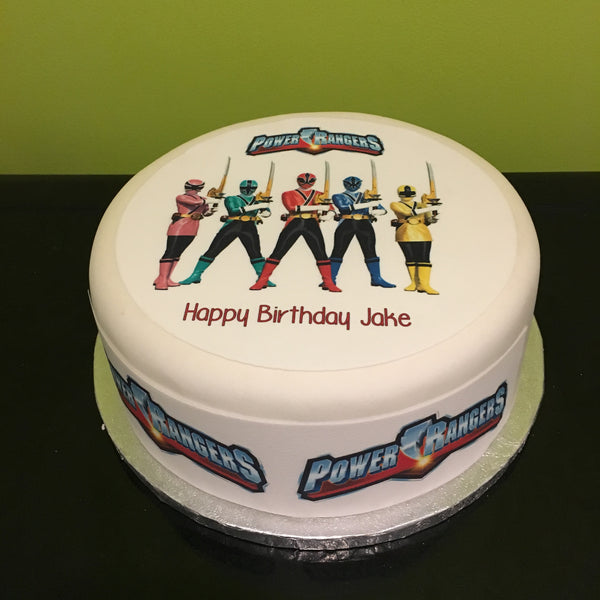 Power Rangers Edible Icing Cake Topper 03