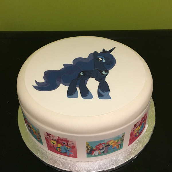 My Little Pony Princess Luna Edible Icing Cake Topper 01