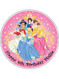 Disney Princess Edible Icing Cake Topper 03
