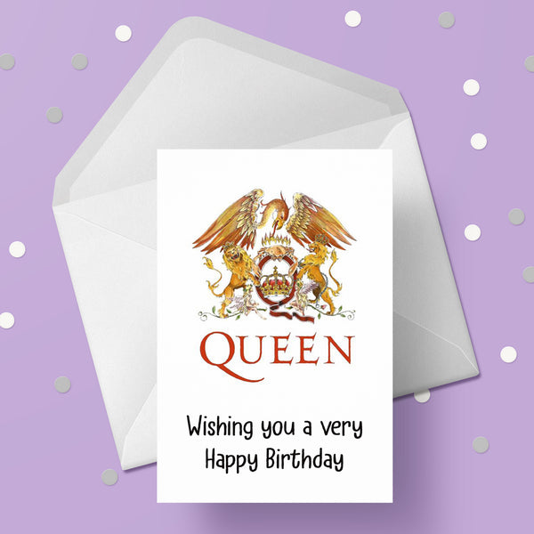 Queen (the band) Card 06