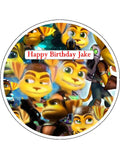 Ratchet & Clank Edible Icing Cake Topper 02