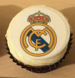 Any Football Badge Edible Icing Cake Topper