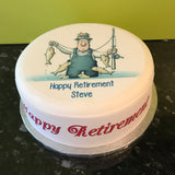 Retirement Retire Edible Icing Cake Topper 09