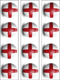 England Football Edible Icing Cake Topper 03